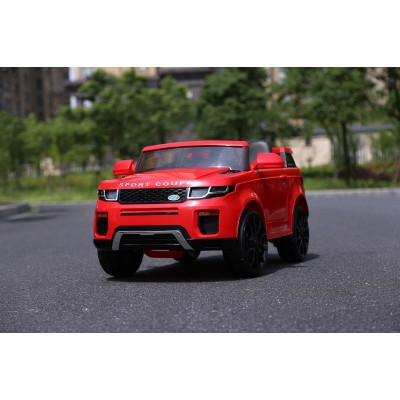 Эл-мобиль T-7832 EVA RED джип на на Bluetooth 2.4G Р/У 12V4.5AH мотор 2*20W с MP3 110*70*53 /1/