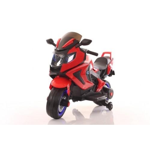 Эл-мобиль T-7229 RED мотоцикл 2*6V4.5AH мотор 2*15W 120*50*75 /1/