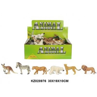 Q9899-297 животные ANIMAL SET 24PCS/BOX