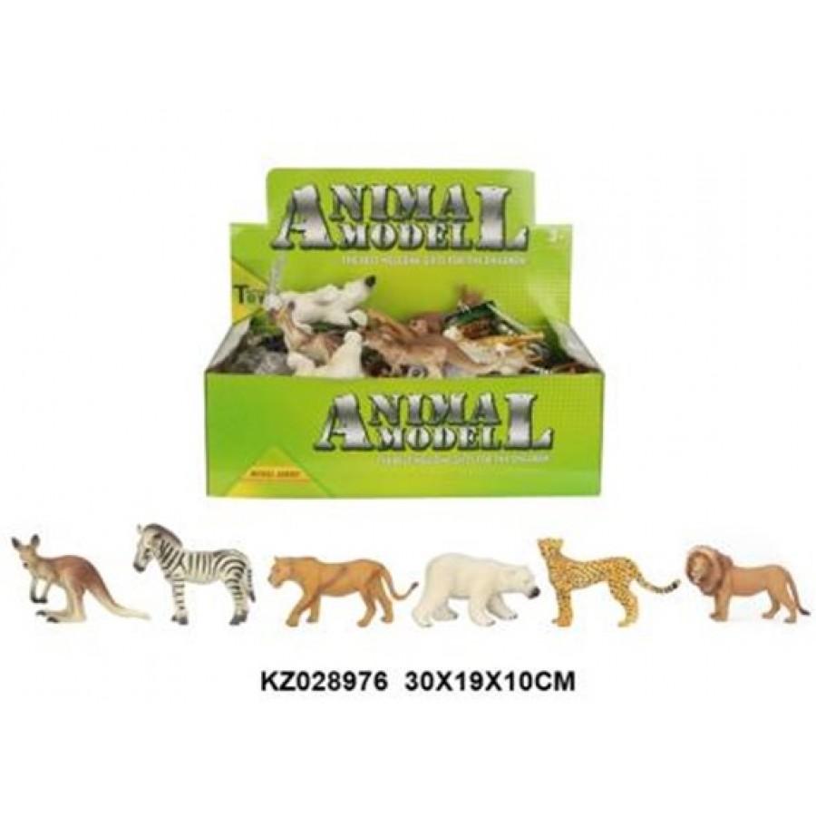 Q9899-297 животные ANIMAL SET 24PCS/BOX