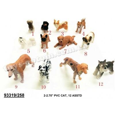 """74652 Собака Гонконг 258 резин. 2-4 12в.36шт.в кор./24/864/"""""""