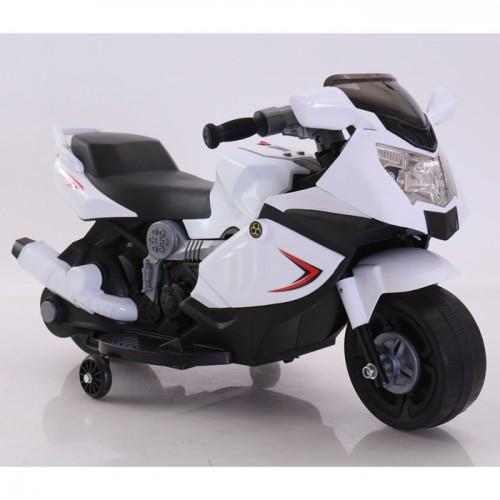 Эл-мобиль T-7215 WHITE мотоцикл 6V4AH мотор 1*12W 86*44*52 /1/