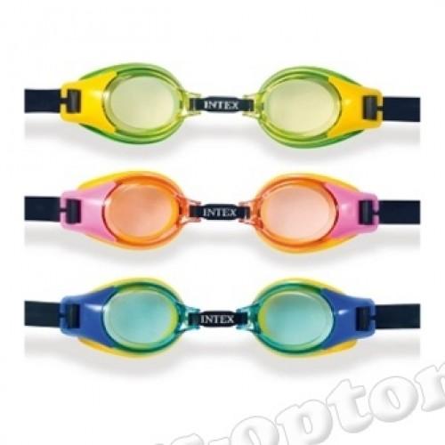 55601 06280 очки для плавания 3-8 лет 3цв./12/ 55601