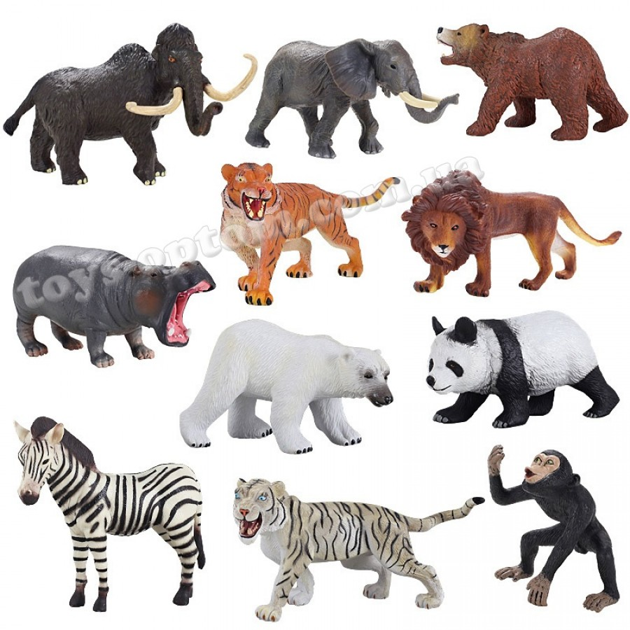 224 WILD ANIMAL WITH BB SOUND 12PCS/BOX