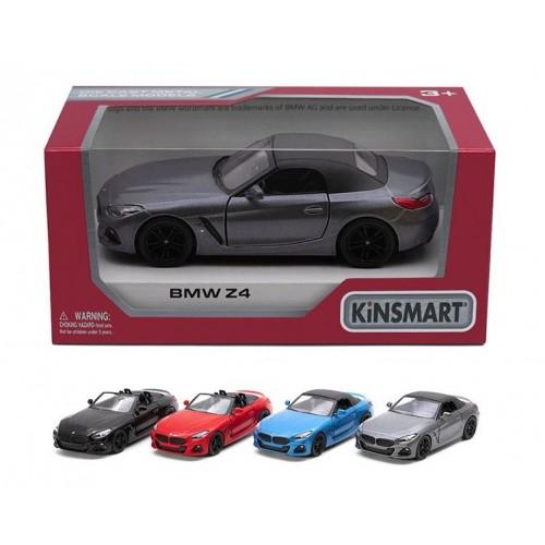 Модель легкова 5'' KT5419W BMW Z4 метал.інерц.відкр.дв.4кол.кор./96/