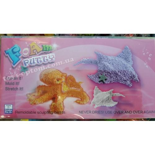 FB06Y Шариковый пластелин 6 цветов 6шт в уп