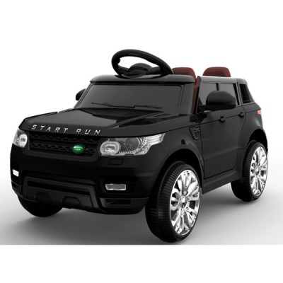 Эл-мобиль FL1638 EVA BLACK джип на Bluetooth 2.4G Р/У 2*6V4.5AH мотор 2*25W с MP3 92,9*58*49 /1/