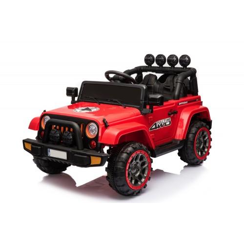 Эл-мобиль T-7833 EVA RED джип на Bluetooth 2.4G Р/У 12V7AH мотор 2*30W с MP3 120*70*70/1/