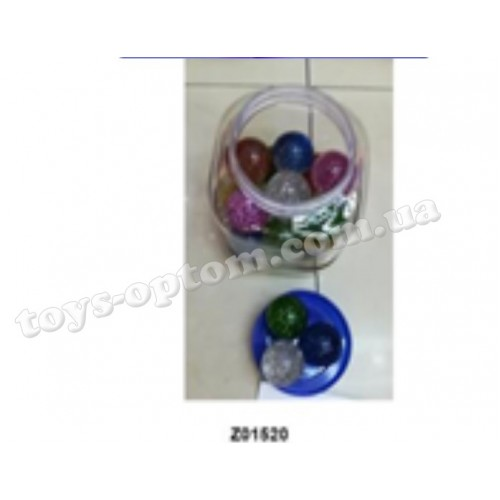 A1776 4.5CM BOUNCE BALL 26PCS/BUCKET