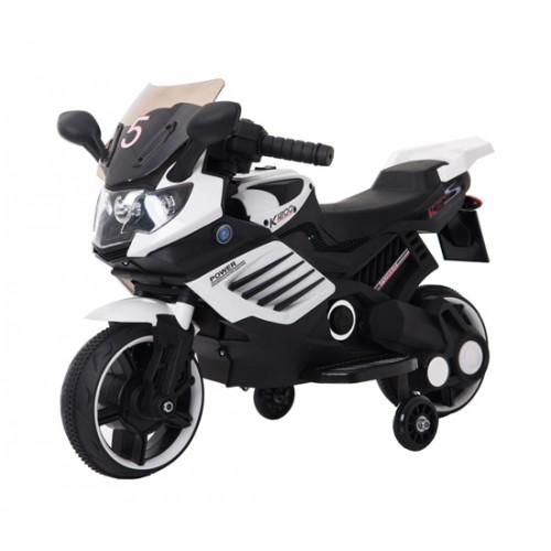 Эл-мобиль T-7210 EVA WHITE мотоцикл 6V4.5AH мотор 1*15W 77*38*50 /1/