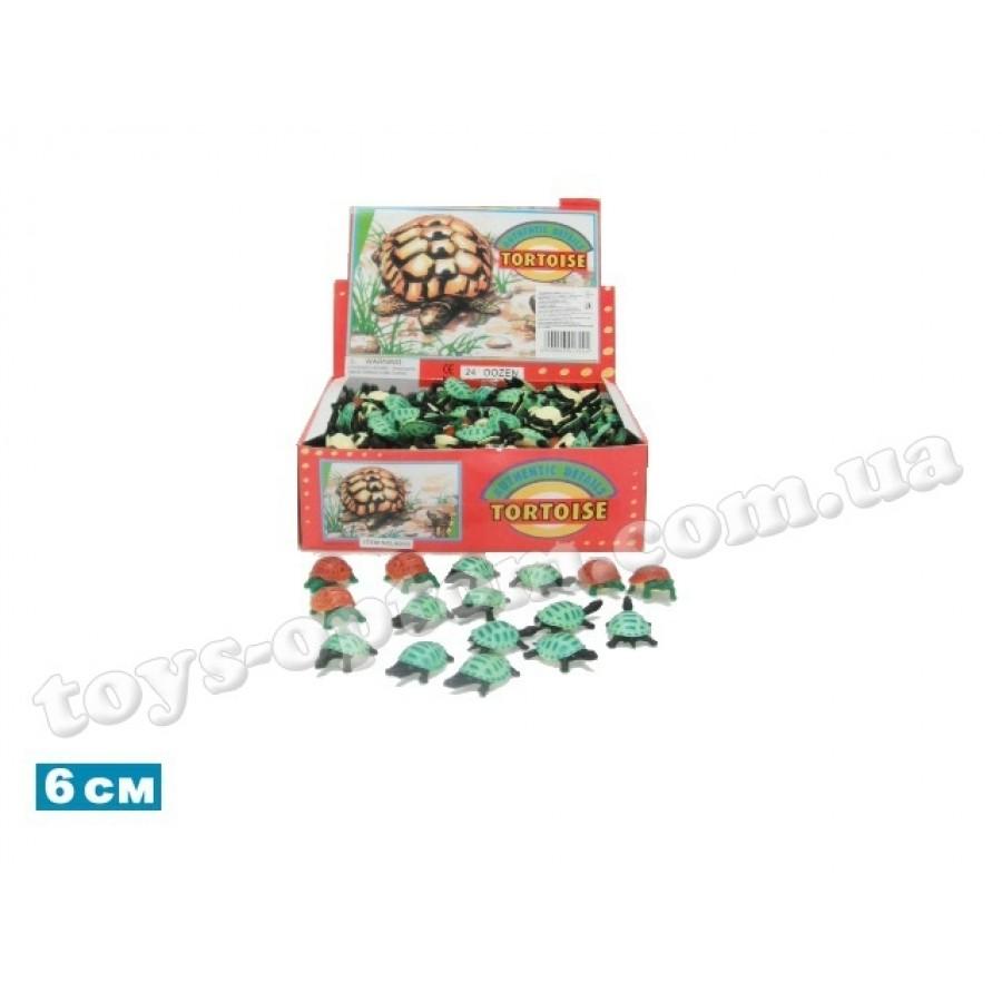 """Черепаха Гонконг A013 резин., 1,5"""" 4 в., 288 шт. в кор., ш.к. /5184/"""