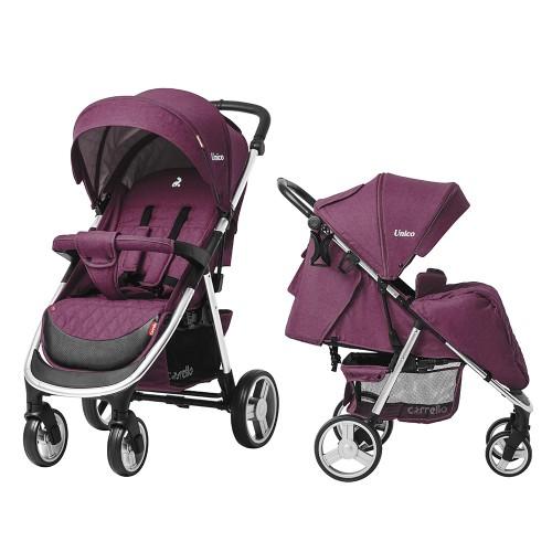 Коляска прогулочная CARRELLO Unico CRL-8507 Lilac Purple +дождевик L /1/ MOQ
