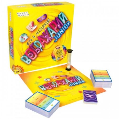 Настольная игра 0134R-12 (36шт) Воображарий, игра в ассоциации, карточки, в кор-ке, 27,5-27,5-5см