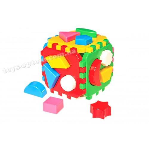 """0458 Игрушка куб """"Умный малыш """""""