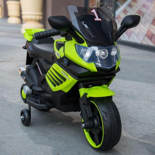 Эл-мобиль T-7210 EVA GREEN мотоцикл 6V4.5AH мотор 1*15W 77*38*50 /1/