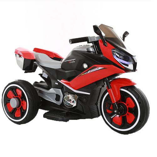 Эл-мобиль T-7228 RED мотоцикл 6V7AH мотор 2*20W с MP3, USB 108*71*55 /1/