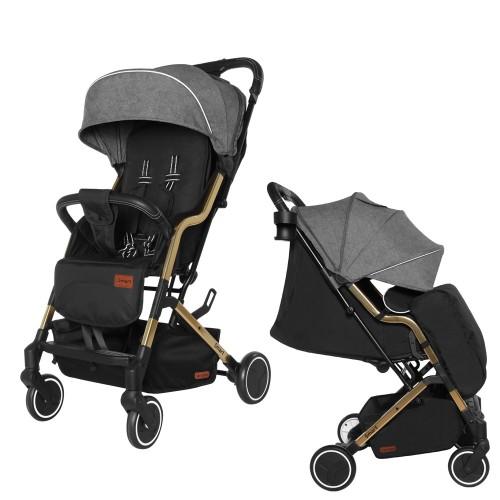 Коляска прогулочная CARRELLO Smart CRL-5504 City Grey +дождевик S/1/