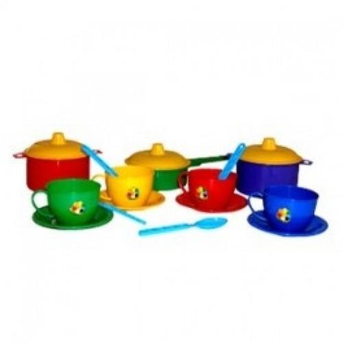 2209 Набор детской посуды Маринка 1 Технок в сетке