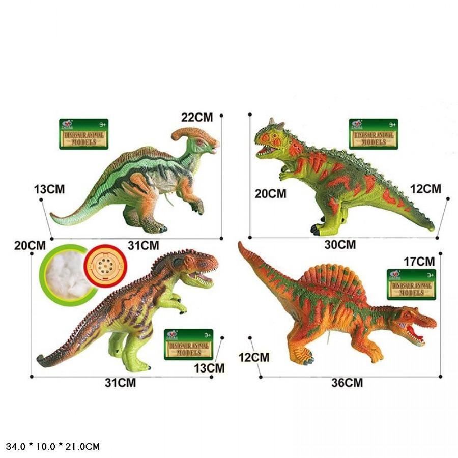 Динозавр Q9899-503A1 гум.звук.4в.34*10*21 /48/