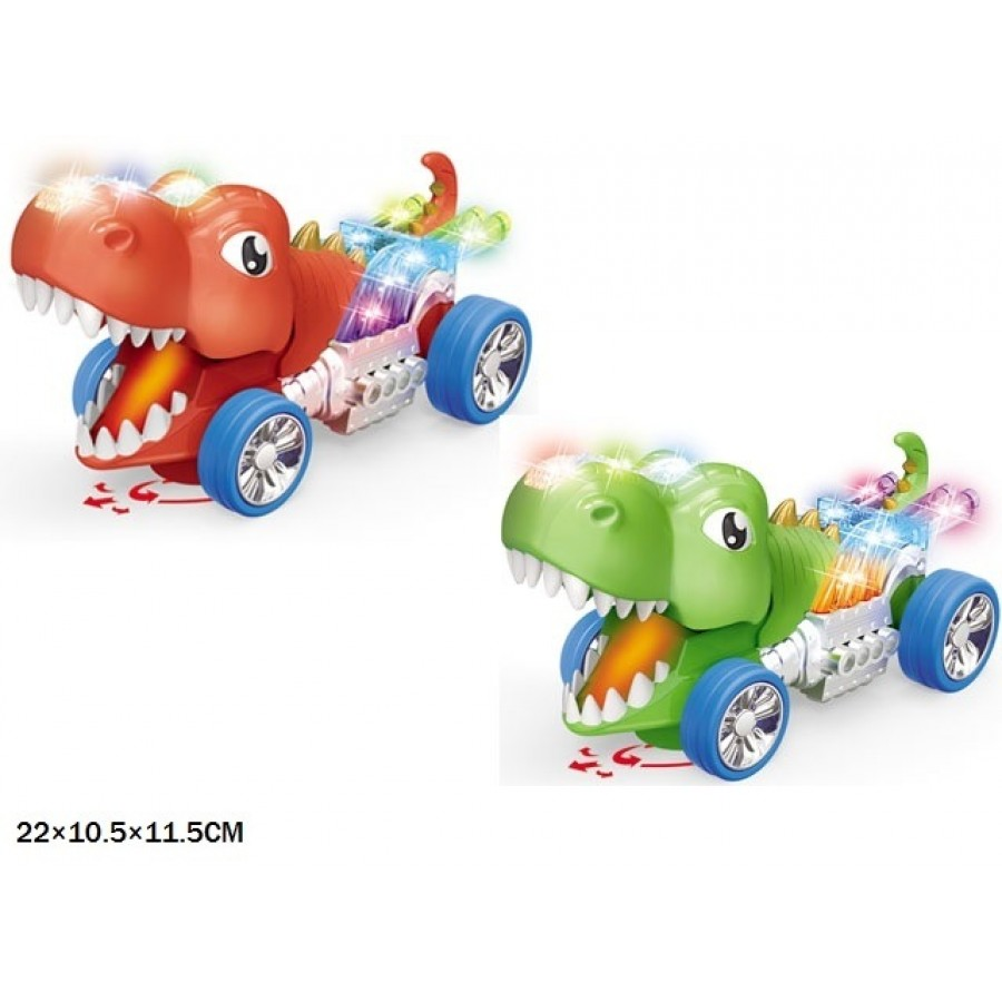 Динозавр HD9069 батар.муз.світ.пар.рух.головою 2кол.кор.22*10,5*11,5 /72/