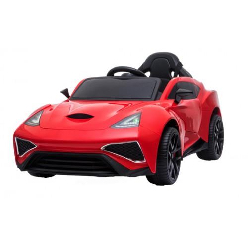 Эл-мобиль T-7647 EVA RED легковая на Bluetooth 2.4G Р/У 12V7AH мотор 2*35W с MP3,USB 118*60*49/1/