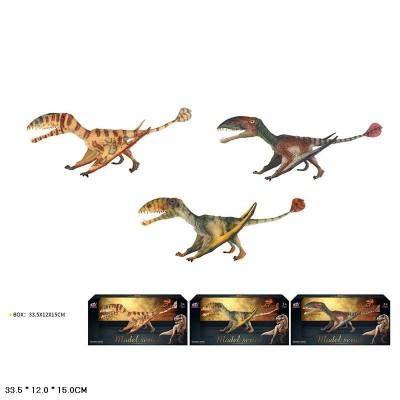 Динозавр Q9899-V54 резин.3в.кор.33,5*12*15 /24/